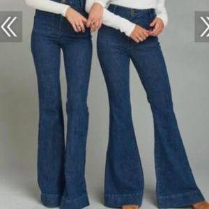 Farrah Trousers Flare 32 Show Me Your Mumu